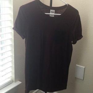 PINK maroon T-shirt